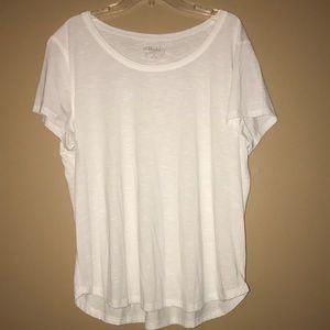 Mudd White T-Shirt